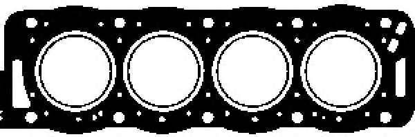 Прокладка головки цилиндра GLASER H17781-10 - изображение