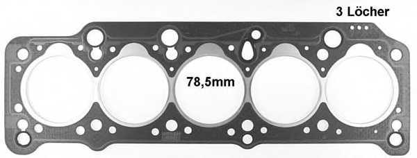 Прокладка головки цилиндра GLASER H17895-10 - изображение