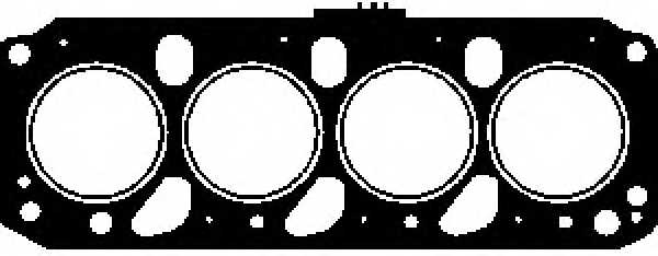 Прокладка головки цилиндра GLASER H18045-40 - изображение