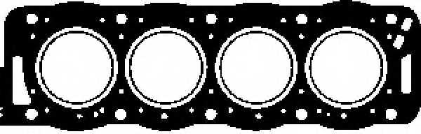 Прокладка головки цилиндра GLASER H18280-10 - изображение