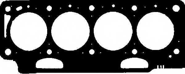 Прокладка головки цилиндра GLASER H24275-20 - изображение