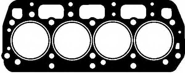 Прокладка головки цилиндра GLASER H50022-00 - изображение