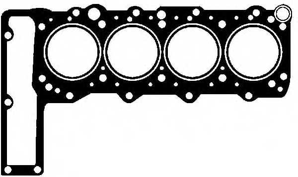Прокладка головки цилиндра GLASER H50089-00 - изображение