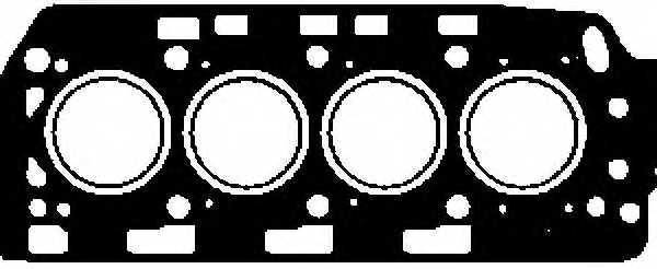 Прокладка головки цилиндра GLASER H50132-00 - изображение