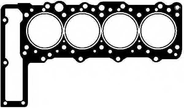 Прокладка головки цилиндра GLASER H50260-00 - изображение