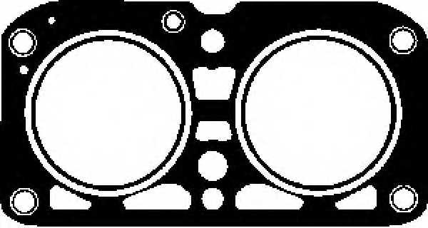 Прокладка головки цилиндра GLASER H50270-00 - изображение