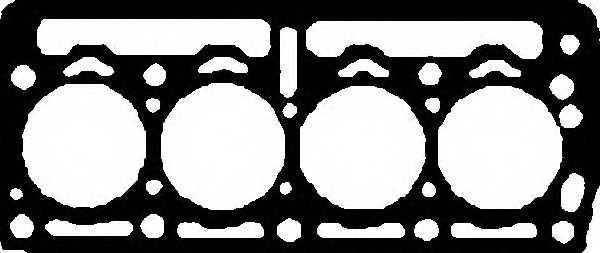 Прокладка головки цилиндра GLASER H50276-00 - изображение