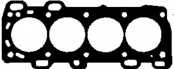 Прокладка головки цилиндра GLASER H50379-00 - изображение