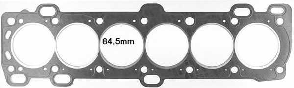 Прокладка головки цилиндра GLASER H50400-00 - изображение