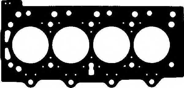 Прокладка головки цилиндра GLASER H50454-00 - изображение