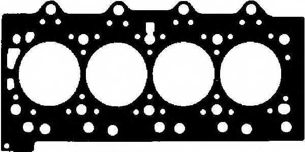 Прокладка головки цилиндра GLASER H50455-00 - изображение