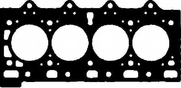Прокладка головки цилиндра GLASER H50456-00 - изображение