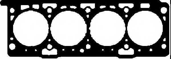 Прокладка головки цилиндра GLASER H50763-00 - изображение