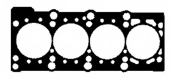 Прокладка головки цилиндра GLASER H80006-00 - изображение