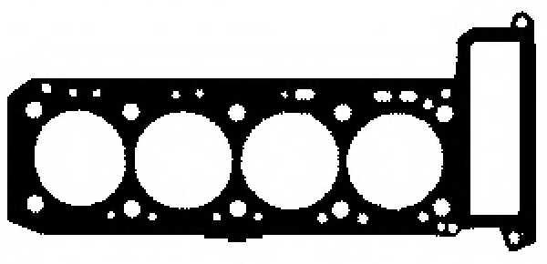 Прокладка головки цилиндра GLASER H80021-00 - изображение