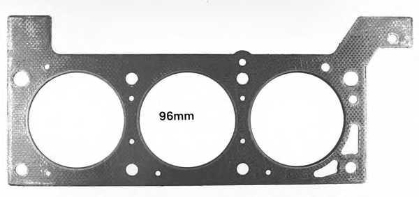 Прокладка головки цилиндра GLASER H80050-00 - изображение