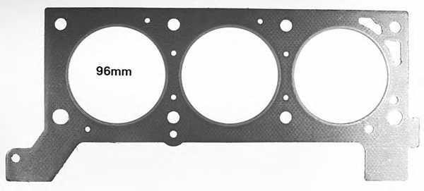 Прокладка головки цилиндра GLASER H80051-00 - изображение