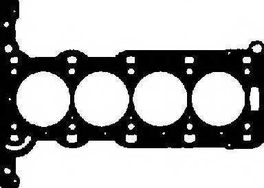 Прокладка головки цилиндра GLASER H80083-00 - изображение