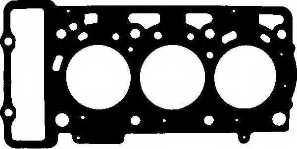 Прокладка головки цилиндра GLASER H80295-00 - изображение
