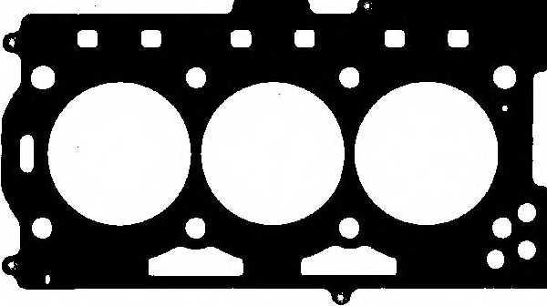 Прокладка головки цилиндра GLASER H80386-00 - изображение