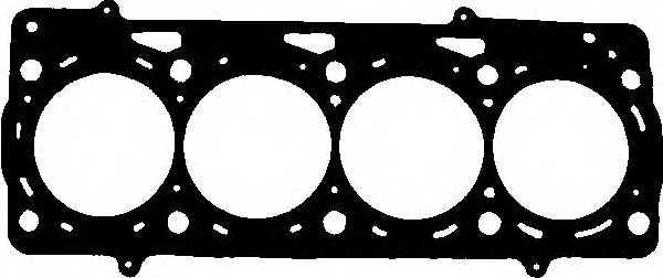 Прокладка головки цилиндра GLASER H80389-00 - изображение