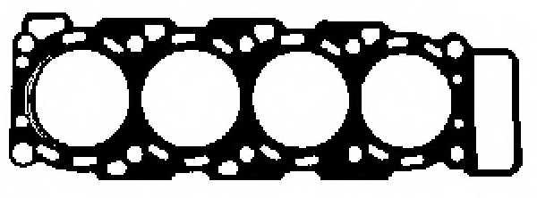 Прокладка головки цилиндра GLASER H80472-00 - изображение