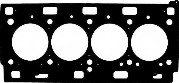 Прокладка головки цилиндра GLASER H80604-00 - изображение