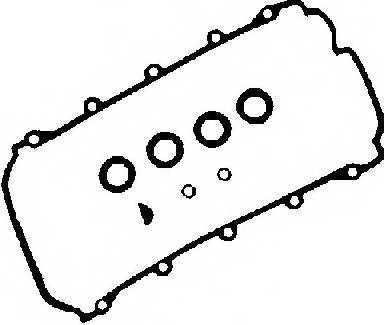 Комплект прокладок крышки головки цилиндра GLASER V32944-00 - изображение