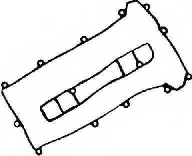 Комплект прокладок крышки головки цилиндра GLASER V36732-00 - изображение