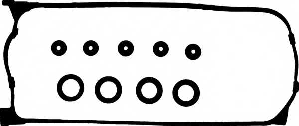 Комплект прокладок крышки головки цилиндра GLASER V83228-00 - изображение