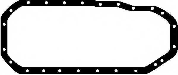 Прокладка, масляный поддон GLASER X02643-01 - изображение