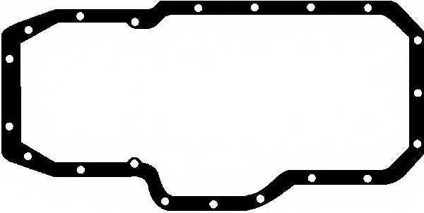 Прокладка, масляный поддон GLASER X03048-01 - изображение
