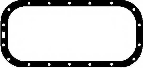 Прокладка, масляный поддон GLASER X03832-01 - изображение