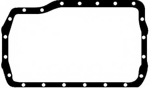 Прокладка маслянного поддона GLASER X04584-01 - изображение