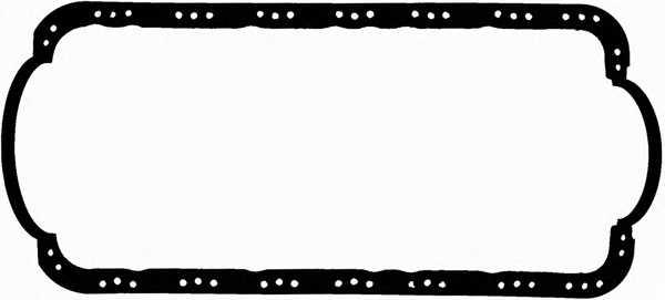Прокладка, масляный поддон GLASER X04734-01 - изображение