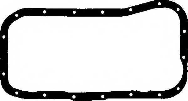 Прокладка, масляный поддон GLASER X05073-01 - изображение