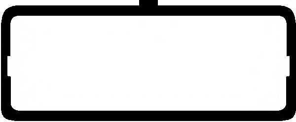 Прокладка крышки головки цилиндра GLASER X06304-01 - изображение