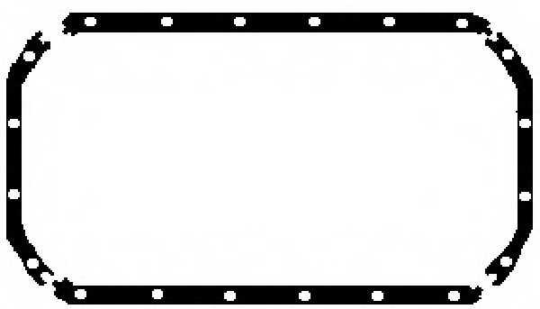 Прокладка, масляный поддон GLASER X06689-01 - изображение
