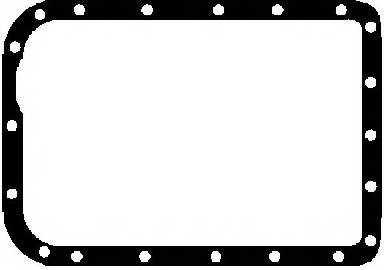 Прокладка, масляный поддон GLASER X06743-01 - изображение