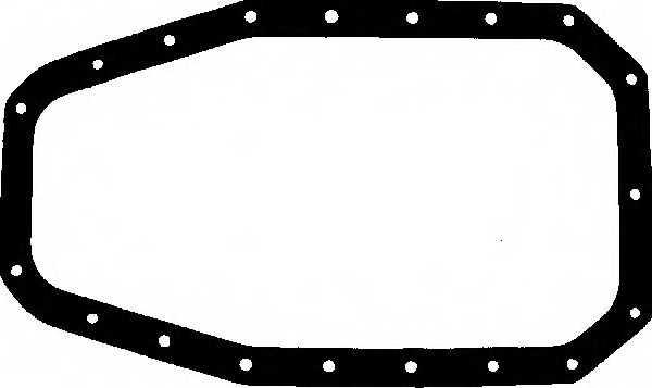 Прокладка, масляный поддон GLASER X07688-01 - изображение