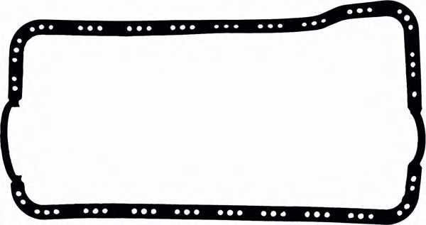 Прокладка, масляный поддон GLASER X07833-01 - изображение