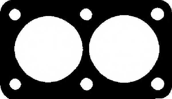 Прокладка выхлопной трубы GLASER X07854-01 - изображение