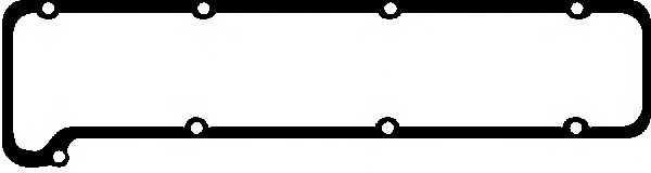Прокладка крышки головки цилиндра GLASER X07924-01 - изображение