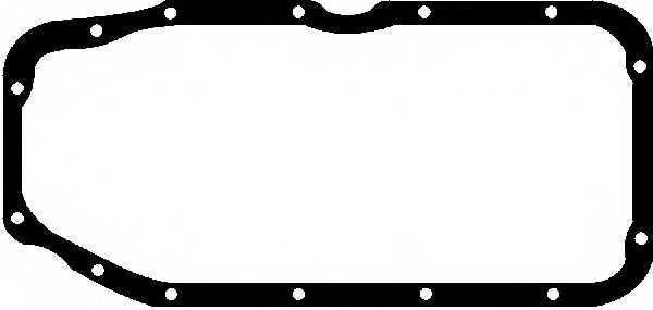 Прокладка, масляный поддон GLASER X08204-01 - изображение