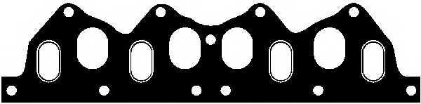 Прокладка впускного / выпускного коллектора GLASER X08255-01 - изображение