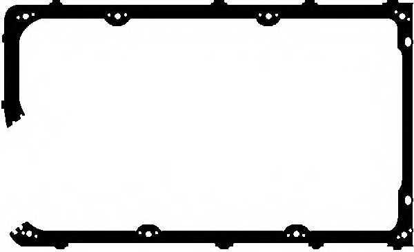 Прокладка крышки головки цилиндра GLASER X08283-01 - изображение