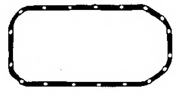 Прокладка, масляный поддон GLASER X08430-01 - изображение