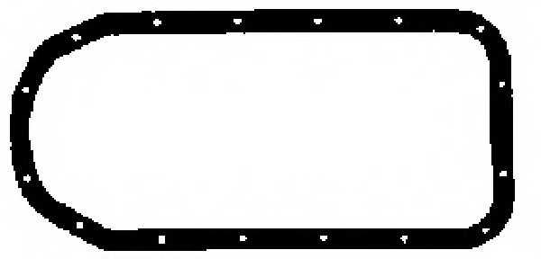 Прокладка, масляный поддон GLASER X08633-01 - изображение