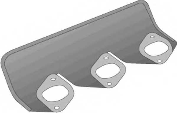 Прокладка выпускного коллектора GLASER X51215-01 - изображение