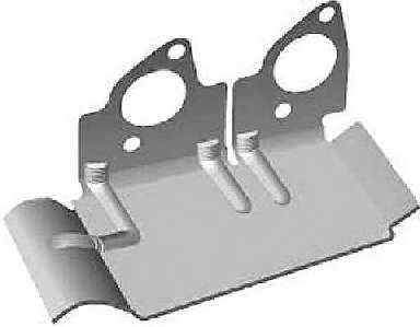 Прокладка выпускного коллектора GLASER X51370-01 - изображение